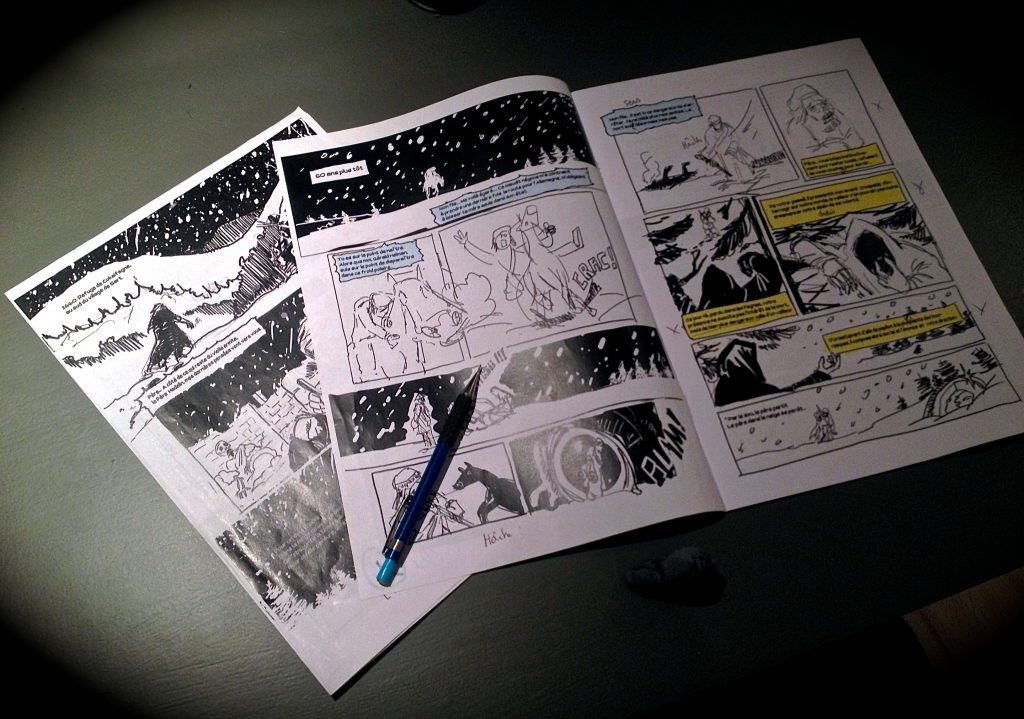 Le storyboard façon Gil !